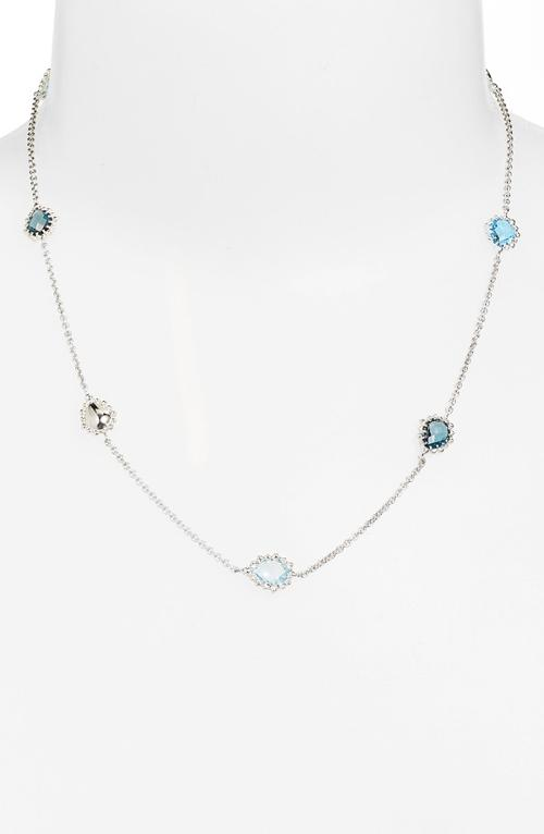 'Dew Drop' Station Necklace by Anzie in No Strings Attached