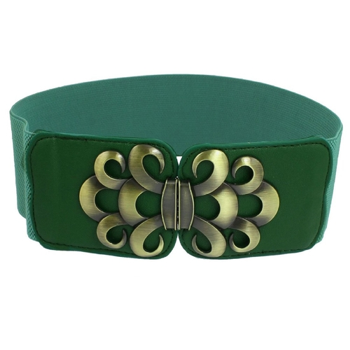 Interlock Buckle Elastic Waist Belt by Allegra K in Confessions of a Shopaholic