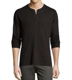 Harper Henley T-Shirt by Billy Reid in Billions