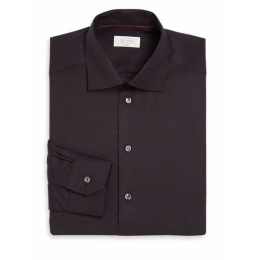 York Slim-Fit Twill Dress Shirt by Eton of Sweden in John Wick