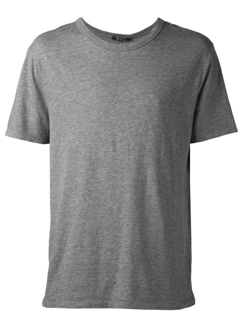 Classic T-Shirt by T by Alexander Wang in Chronicle
