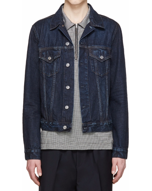 Denim Who Jacket by Acne Studios in Chelsea - Season 1 Episode 1