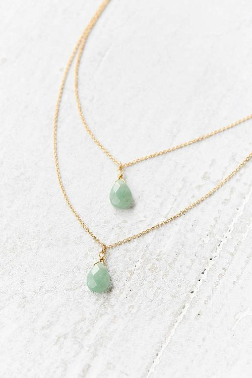Stones Of The Valley Layered Necklace by Urban Outfitters in New Year's Eve