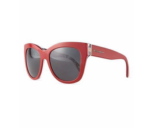 Square Acetate Sunglasses by Dolce & Gabbana in The Boss
