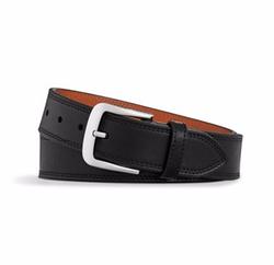 Essex Double Stitch Leather Belt by Shinola in Quantico