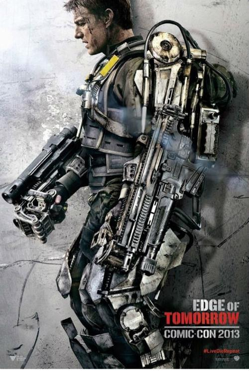 Custom Made Power Armor Suit (Lt. Col. Bill Cage) by Kate Hawley (Costume Designer) in Edge of Tomorrow