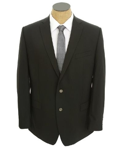 Men's Solid Slim Fit Sport Coat Jacket by Calvin Klein in Max
