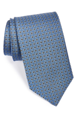 Woven Silk Tie by J.Z. Richards in Suits