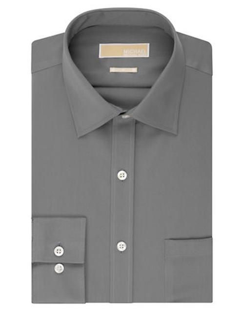 Regular Fit Non Iron Dress Shirt by Michael Michael Kors in Arrow - Season 4 Episode 4
