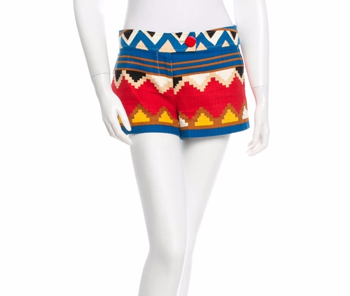 Navajo Shorts by Tibi in Gossip Girl - Series Looks