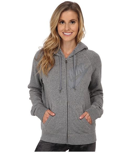 Rally Full-Zip Matte Hoodie by Nike in Keeping Up With The Kardashians - Season 11 Episode 4