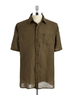 Short Sleeved Sport Shirt by Black Brown 1826 in Horrible Bosses 2