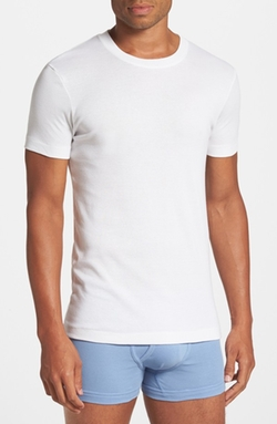 Pima Cotton Crewneck T-Shirt by 2(x)ist in The Finest Hours