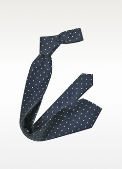 Pattern Woven Silk Tie by Forzieri in We Are Your Friends