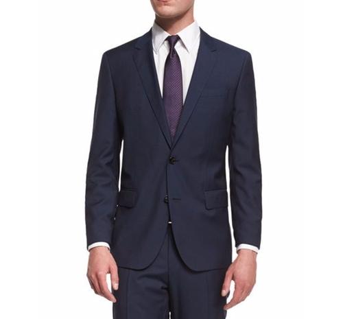 Huge Genius Slim-Fit Basic Suit by Boss Hugo Boss  in Ballers - Season 2 Episode 2