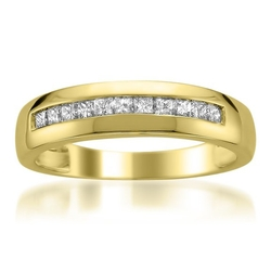 Wedding Band Ring by La4ve Diamonds in Vacation