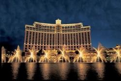 Las Vegas, Nevada by Bellagio Hotel and Casino in Ocean's Eleven
