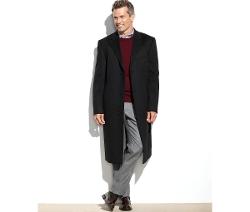 Columbia Cashmere-Blend Overcoat by Lauren Ralph Lauren in Poltergeist