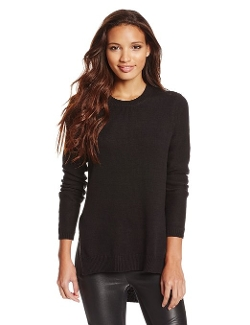Women's Side-Slit Crew-Neck Sweater by BCBGeneration in Paper Towns
