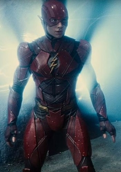 Custom Made 'The Flash' Suit (Barry Allen) by Michael Wilkinson (Costume Designer) in Justice League