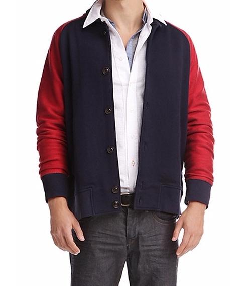 Cotton Blend Sweatshirt Jacket by Boss Orange in The Flash - Season 2 Episode 16