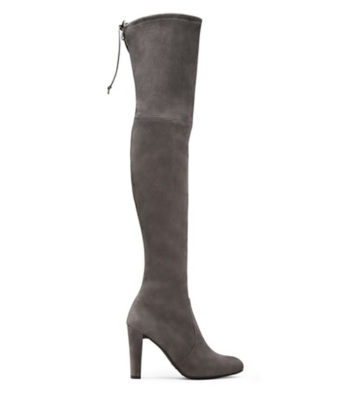 Women's Highland Over-the-Knee Boots by Stuart Weitzman in Keeping Up With The Kardashians - Season 11 Episode 11