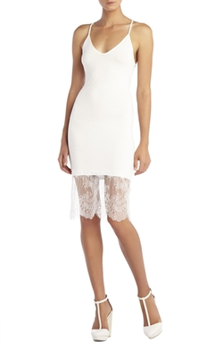 Bridgett Lace-Trim Slip Dress by BCBGMAXAZRIA in The Flash