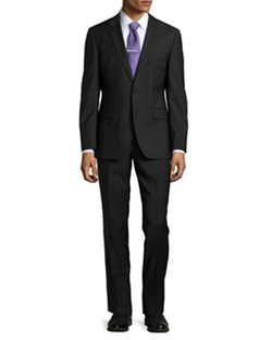 Grand Central Solid Two-Piece Suit by Hugo Boss in Ballers