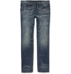 Slim Fit Denim Pants by Gucci in Fast Five
