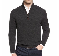 Nano-Cashmere Pullover Sweater by Neiman Marcus in The Circle