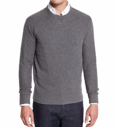 Mixed-Textured Crewneck Sweater by Neiman Marcus in Daddy's Home 2