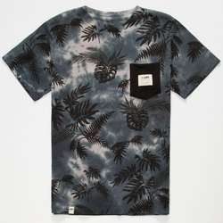Jungle Print Pocket Tee by Lira in Vacation