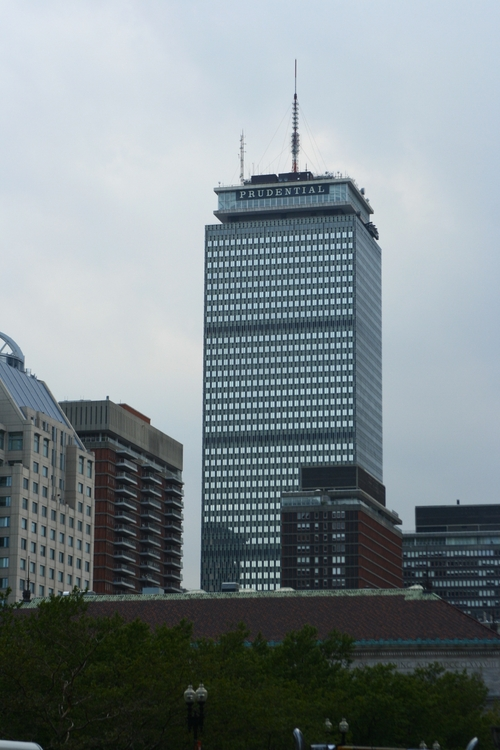 Prudential Tower Boston, Massachusetts in Spotlight