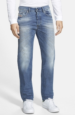 'Buster' Slim Straight Leg Jeans by Diesel in Ex Machina