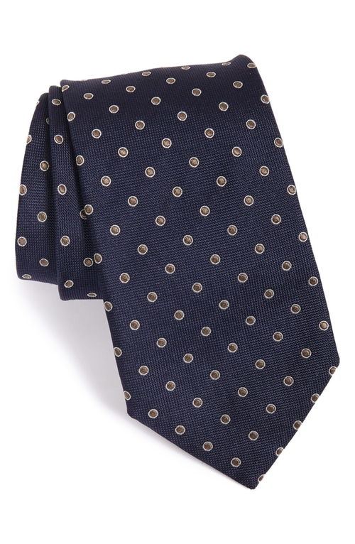 Dot Silk Tie by Eton in Our Brand Is Crisis
