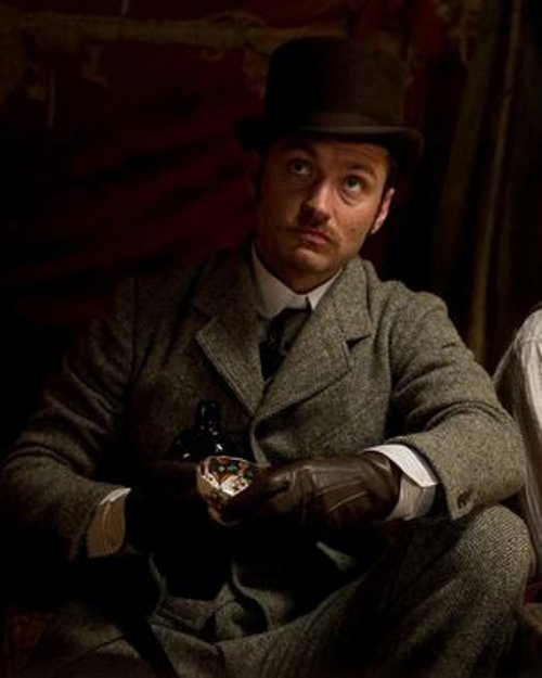 Custom Made Tweed Suit by Jenny Beavan (Costume Designer) in Sherlock Holmes: A Game of Shadows