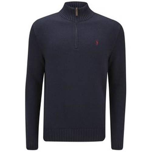 Men's Mock Neck Knitted Jumper Sweater by Polo Ralph Lauren in Tomorrow Never Dies