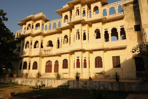 Ravla Khempur (Depicted as Best Exotic Marigold Hotel) Udaipur, India in The Second Best Exotic Marigold Hotel