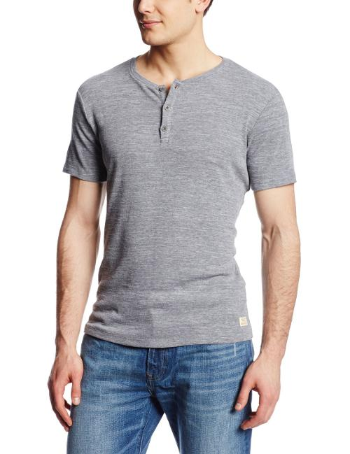 Men's Brody Short Sleeve Henley by Big Star in Million Dollar Arm