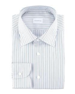 Alternating Stripe Dress Shirt by Ermenegildo Zegna in Million Dollar Arm