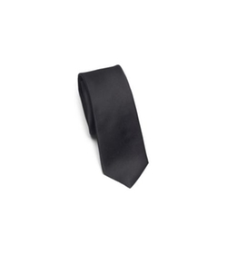 Solid Silk Tie by Michael Kors in Dr. No