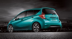 Versa Note Sedan by Nissan in The D Train