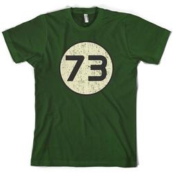 73 Logo T-Shirt by Dressdown in The Big Bang Theory