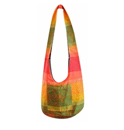Hippie Hobo Cotton Crossbody Bag by Avarada in Unbreakable Kimmy Schmidt