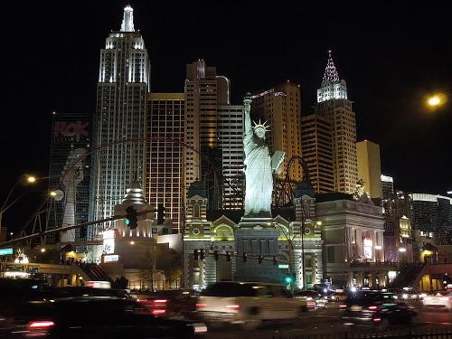 New York - New York Hotel & Casino Las Vegas, Nevada in The Expendables 3