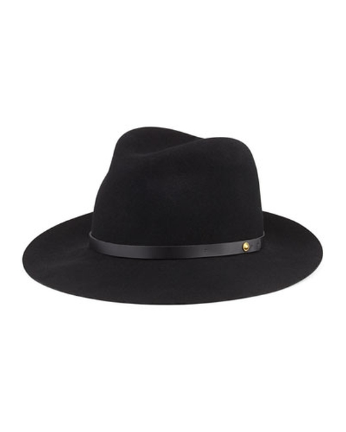 Floppy Brim Wool Fedora Hat by Rag & Bone in Atonement