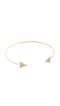 Pave Arrow Cuff Bracelet by Tai in Modern Family