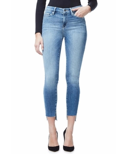 Good Legs Raw Stagger Hem Jeans by Good American in Keeping Up With The Kardashians