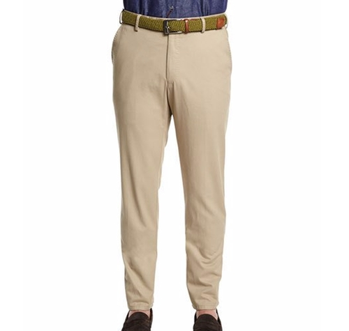 Raleigh Washed Twill Pants by Peter Millar in Free Fire