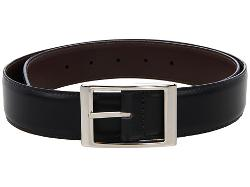 Reversible Aniline Leather Belt by Torino Leather Co. in Safe House